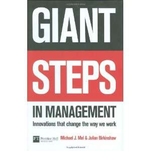 Giant Steps in Management Innovations that change the way you work