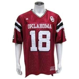 Oklahoma Mens Shot Gun Football Jersey