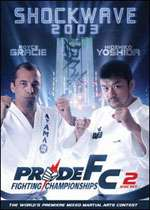 FC Shockwave 2003 Royce Gracie vs Hidehiko Yoshida 2 DVD Set #12209