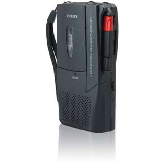 Product Coby CXR123 Voice Activated Micro Cassette Recorder