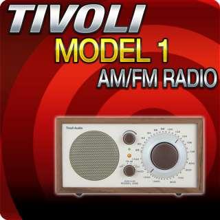Tivoli Audio Model One Henry Kloss (Walnut) AM/FM Table Radio   M1CLA
