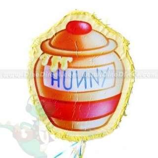 Halloween Birthday Party Winnie Pooh Honey Pot Pinata   DinoDirect