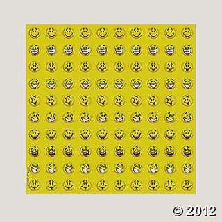 800 Mini Stickers   Smile Face, Goal Charts, Teacher Resources
