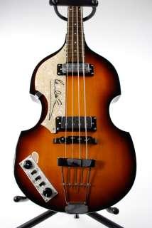 Paul McCartney Beatles Hofner Signed Autographed Guitar Product Image