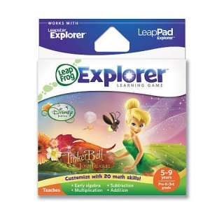 LeapFrog Explorer Learning Game   Disney Fairies: Tinker Bell and the
