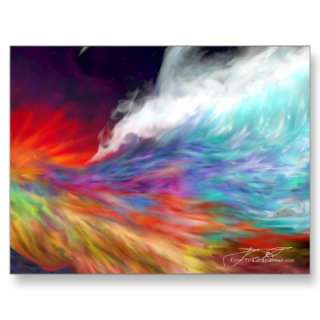 Colours of the Imagination   Rainbow World Postcards from Zazzle