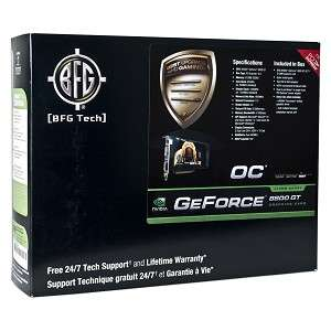 BFG Tech GeForce 8800GT OC 512MB DDR3 PCI Express (PCIe) Dual DVI
