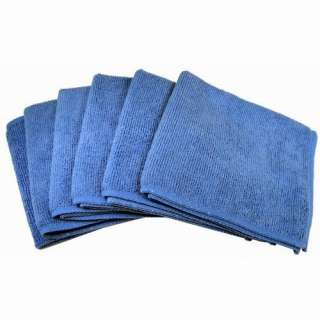 Unlimited ACCFIBER6 Ultra Absorbent Microfiber Cleaning Cloths, 6 Pack