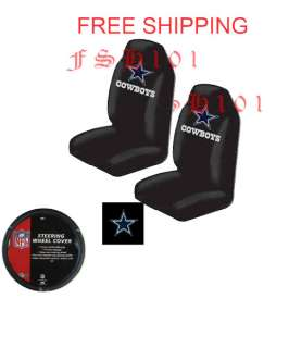 New NFL Dallas Cowboys Seat Covers & Car Wheel Cover