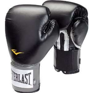 Everlast 14 oz. Pro Style Boxing Gloves   Black Sports