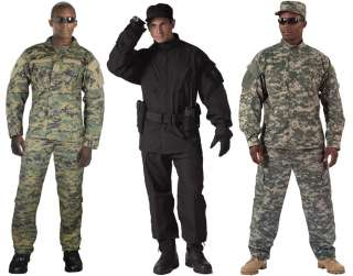 Military Tactical Army Combat Uniform ACU Pants & Shirt