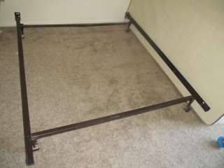 USED QUEEN FULL SIZE ADJUSTABLE METAL BED FRAME