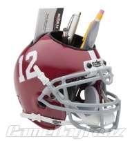 ALABAMA CRIMSON TIDE NCAA Football Helmet Desk Caddy