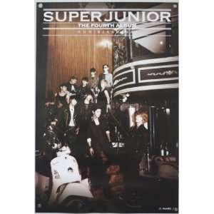 Super Junior Vol. 4 Bonamana Poster