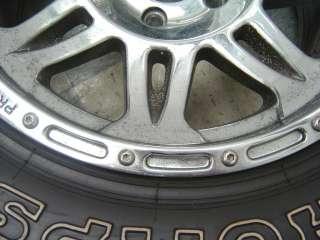 Jeep Wrangler Pro Comp Xtreme Wheels Mickey Thompson Tires 17 Chrome