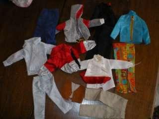 Huge Lot 77 PIECES Vintage Barbie Ken Skipper Doll Clothes Clothing