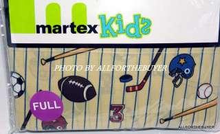 NEW MARTEX KIDS SPORTS HOCKEY FOOTBALL BASEBALL FULL SHEET SET