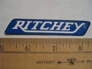 RITCHEY SMALL BIKE STICKER DECAL NEW ROAD MTB