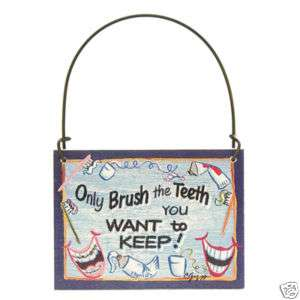 Dentist Sign Dental Hygienist Brush Teeth toothbrush