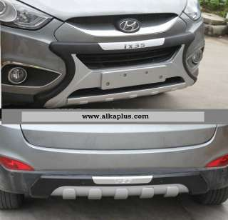 2010 IX35 OEM FRONT BUMPER GRILLE GUARD & REAR BUMPER GUARD |