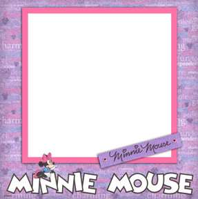 Disney Mickey & Minnie Digital Scrapbook Premade Kit