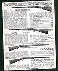 1944 ad Winchester Model 21 Double Barrel Shotgun Skeet