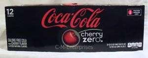 Coca Cola Cherry Coke Zero 12 pack