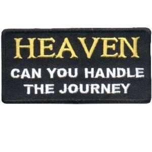 Can You Handle The Journey Christian Biker Patch: Everything Else
