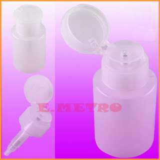 Pump Dispenser Nail Art Acetone Polish Makeup Remover