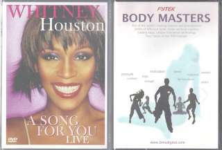 Houston A Song for You Live (DVD) & Fytek Body Masters   2 DVDs