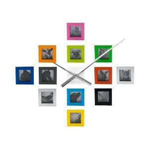 Present Time   Do It Yourself Photo Frame Wall Clock In Multi Baby