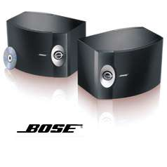 BOSE 301 DIRECT / REFLECTING SPEAKER SYSTEM NEW (BLACK) 017817305518