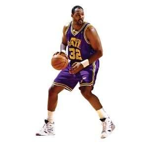 Karl Malone Utah Jazz NBA Fathead REAL.BIG Wall Graphics