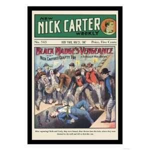 Nick Carter Black Madges Vengeance Giclee Poster Print, 18x24