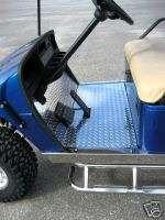 EZGO DIAMOND PLATE Golf Cart FLOORING Cover MAT EZ GO