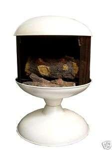 Freestanding ORB Indoor/Outdoor Metal Fireplace