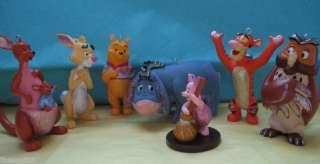 Disney Winnie the Pooh & Friends Christmas ornament set