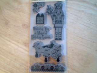 Recollections~Christmas Nutcracker Cling Stamps *NEW*
