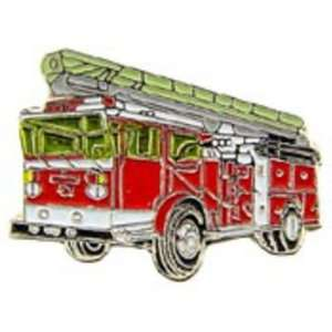 Fire Ladder Truck Pin Red 1 Arts, Crafts & Sewing