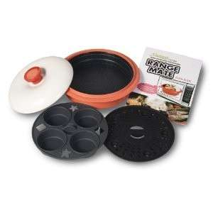 Microware Better Microwave Cooker using Far Infrared Heating
