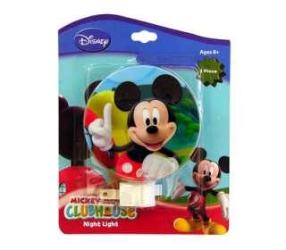 Disney Mickey Mouse Kids Room Deco Plug in Night Light