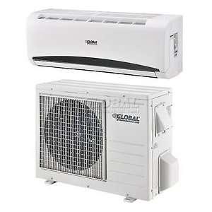 Global Single Zone Ductless Split Heat Pump 9000 Btu 115