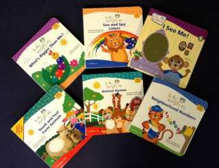 Disney BABY EINSTEIN Lot 6 Board Books lot Toddler NEW Collection Set
