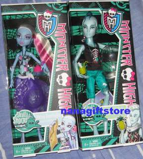 NIB Monster High Doll Skull Shores Gil Webber & Abbey Bominable VHTF