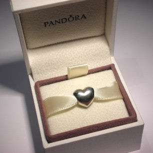 AUTHENTIC PANDORA Sterling Silver LOVE HEART Charm 790137