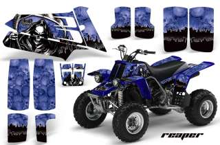 AMR ATV GRAPHICS KIT STICKERS DECALS YAMAHA BANSHEE 350