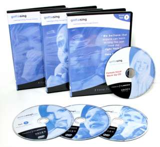 LEARN TO SING Female   3DVDs PROFESSIONAL VOICE LESSONS