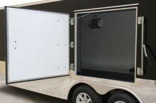 5x24 Enclosed Cargo Auto Hauler Race Car Trailer 5200 Black Ramp