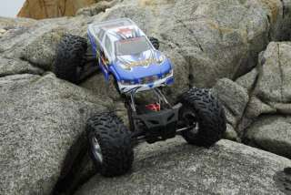 RC Rock Crawler Truck 1/8 Scale ROCKSLIDE SUPER CRAWLER