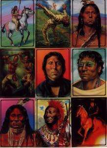Native American Trading Card Basic Set